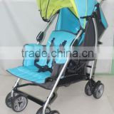 #3025 TWIN PRAM of new classic baby stroller baby buggy child jogger made of aluminum in FuJian, China