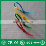 Wholesale color nylon cable ties, cable tie with label,numbered cable ties