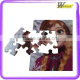 Cold Long Braid Girl spain souvenirs TOY game baby games educational robot Jigsaw Puzzle