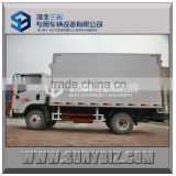 FAW 4X2 mini 3T frozen food van truck