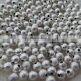 Look!! High Quality Shiny Metal Stardust Beads! Bulk Price Stardust Spacer Beads for largebeads for bracelets and necklaces