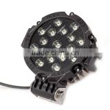 4x4 Offroad 51W LED work light,Spot Flood Beam for Truck Jeep ,Super Bright LED Working Light