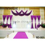 Elegant drapes curtain for wedding backdrop decoration,wedding draping(BD-001)