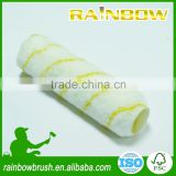 yellow stripe acrylic cage style paint roller cover