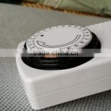 Mechanical timer socket Dial the code switch plug timer 24 hours mechanical timer plug in