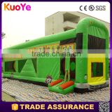 factory price bus type inflatable bounce house toys for kids