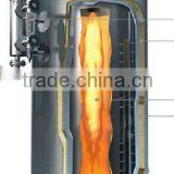 300kg to 1000kg steam output Vertical natural gas fired boiler, vertical steam boiler