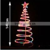 Commercial competitive price led christmas star rope light motif