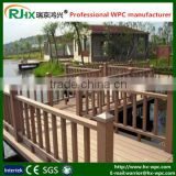 WPC fence for outdoor garden decoration with temporary design