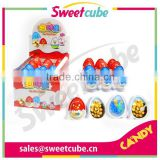 various kinds of toys collection - similar to kinder chocolate with biscuit egg