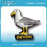 Devon bird 3d soft pvc fridge magnet