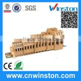 Rail Type Wire Connector PCB Electric Manufaturer Screw Clamp Terminal Block with CE