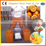 Full automatic high efficient commercial orange juice making machine,automatic orange squeezer