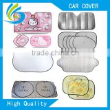window roll up uv sun shade for car static sun shade