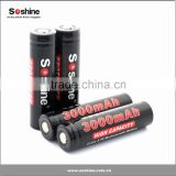 Soshine 186503000mAh rechargeable battery 18650 3000mAh Li-ion 3.7V lithium ion car batteries sale