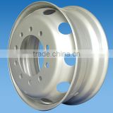 Heavy Truck Steel Wheel Rim 22.5x9.00 for Tyre 12R22.5                                                                         Quality Choice