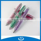 Mini Crystal Capped Metal Roller Ball Pen