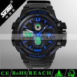 2016 analog digital sports watch bright color digital watch cheap fashion watches for men
