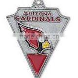 High Quality Football Sport Charms Enamel Single-Sided Arizona Cardinals NFL Charms Wholesale