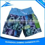 Waterproof Fabric Swim Shorts Pockets Swim Trunks Towel Beach Shorts