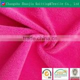 Hot sale 100% polyester plain polar fleece fabric one side brushed one side anti-pilling