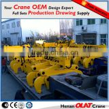 Customizable crane lifting clamp using workshop steel plate