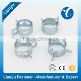 Galvanized Steel Hose Clamp Hose Band China Fastener Manufacturer