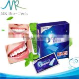 Mint flavor teeth whitening strips / non peroxide teeth whitening strips / dental teeth whitening strips                                                                         Quality Choice
