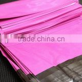 Plastic Bag Envelopes OEM Poly Shipping Mailing Custom Printed Postal Mailers Pink/Black color
