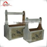 2016 Rustic Style Best Selling Wooden Beer Crate For Storage Or Decorative