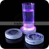 Many models Hot Sale Cup Bottle LED Glow Sticker Coaster