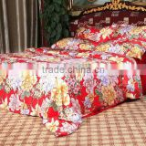 silk wedding bed set