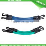 Colored Latex Rubber Resistance Band With Plastic Hook                                                                         Quality Choice