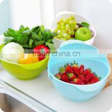 New Design Wash Basket - Vegetable Fruit Plastic Basket for Food