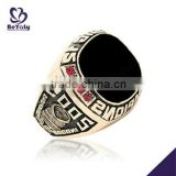Wholesale customized brass Championship ring 2005 Sports Champions ring