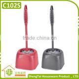 Factory Wholesale Eco-Rriendly Plastic Cleaning Tools Plastic Toilet Brush