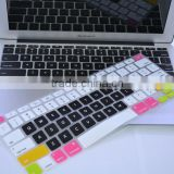 "silicone cover for mac keyboard cover , for 13"" macbook silicone keyboard cover"
