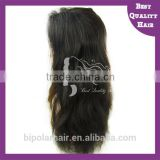 "Customed 8""-30"" silky straight silk base Brazilian human hair full lace wig lace wig with comb baby hair nature"