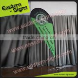 Outdoor Aluminum Poles Beautiful Teardrop Flag