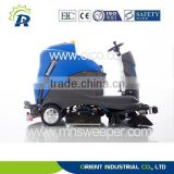 High quality OR-X10 battery powered ride-on floor sweeper-scrubber