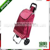 foldable luggage cart fashion logo shopping bag
