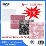High Strength Standard Size Customized ACP ACM Panels World Wide Aluminum Sandwich Plate Wall Claddings