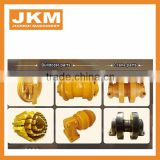 Track Carrier Roller undercarriage parts bulldozer D4H,D5,D5B,D6C,D6H,D6R,D6M,D6N,D7F,D7G,D7H,D8N,D8K,D9
