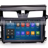 Cheap 7 inch Android 5.1.1 Screen Mirroring Black colored car dvd GPS navigation for Nissan Teana
