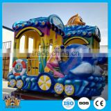 direct manufacturer amusement park animal kiddie train rides / indoor playground equipment