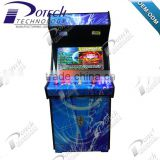 26 inch upright wooden pandora box 4 arcade coin operated game machine for sale