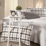 Cotton Check Printed Pillow Sham