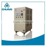 Carbon Steel Sprayed Complete PSA oxygen system corona discharge 40g Ozone generator for wastewater treatment