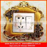 Promotion Selling Polyresin Switches frame Sticker