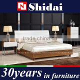 modern teen bedroom furniture / indian furniture bedroom beds / bedroom furniture simple double bed B-824